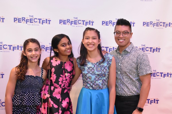 Courtney Faith Mormino, Sway Bhatia, Avelina Sanchez and Steven Cuevas (Music Director)