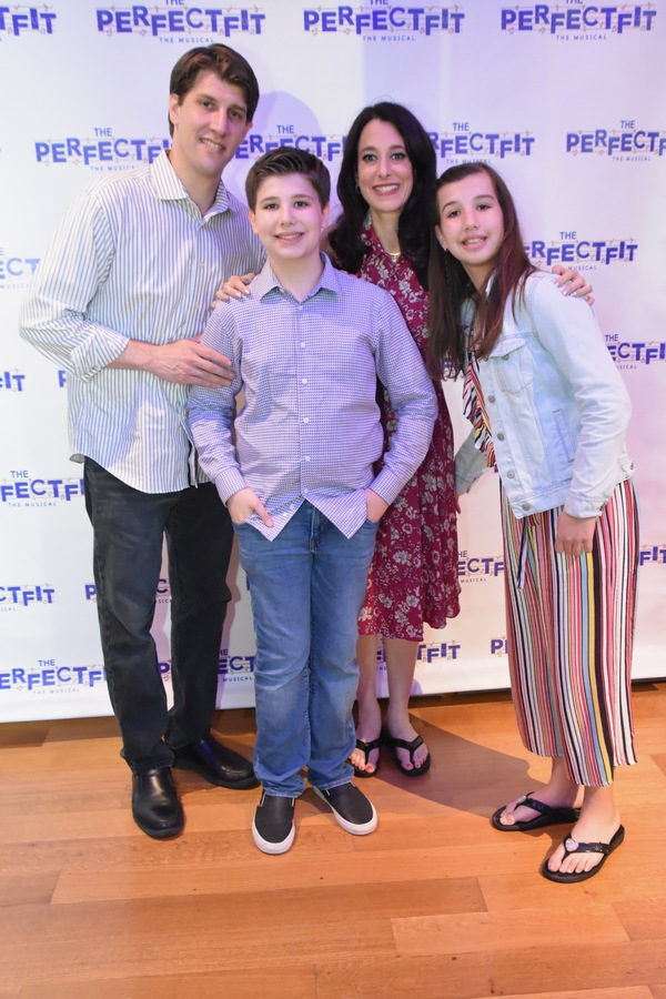 Jason Turchin, Joshua Turchin, Kira Turchin and Shaina Turchin