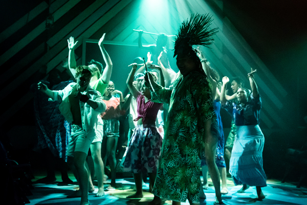 Photo Flash: First Look at ONCE ON THIS ISLAND at Southwark Playhouse