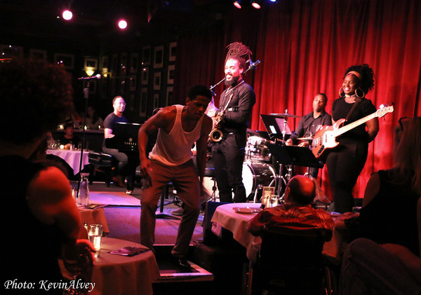 Photo Flash: Jared Grimes Hits The Stage For Broadway at Birdland