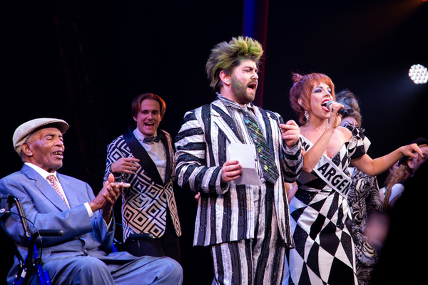 Photo Coverage: 'Day-O' Songwriter Lord Burgess' Celebrates His 95th Birthday At BEETLEJUICE!