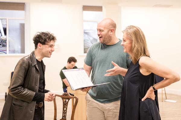 Keith Ramsay, Alex Sutton, Rebecca Caine Photo
