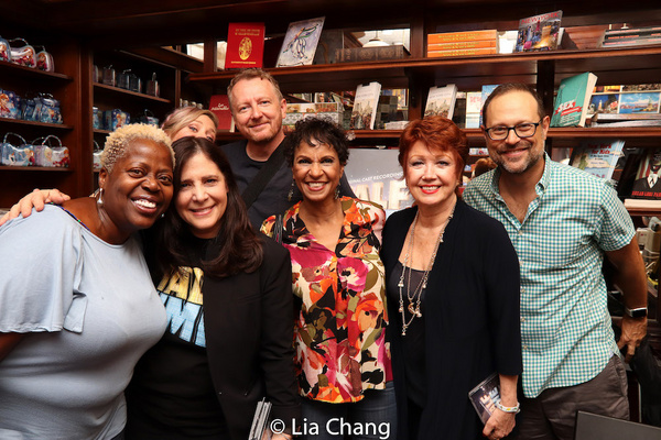 Lillias White, Dori Berinstein, Haven Burton, Bob Martin, Nancy Ticotin, Donna McKech Photo