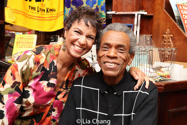 Nancy Ticotin and Andre De Shields