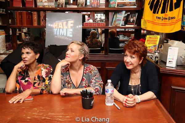 Nancy Ticotin, Haven Burton and Donna McKechnie