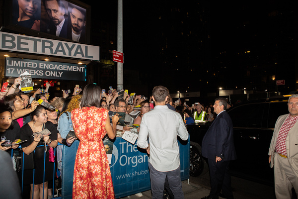 Photo Coverage: Tom Hiddleston, Zawe Ashton and Charlie Cox Meet Fans After First Preview of BETRAYAL!