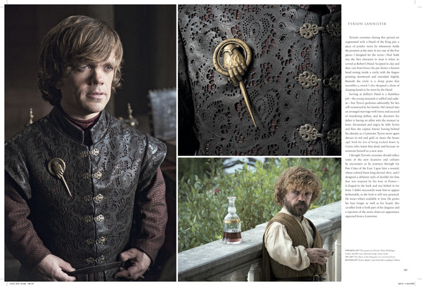 Photo Flash: HBO & Insight Editions Reveal First Look Inside GAME OF THRONES: THE COSTUMES Book