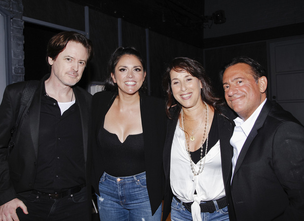 John Fugelsang, Cecily Strong, Maggie Wheeler, Eugene Pack Photo