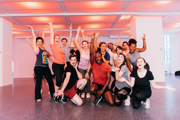 Photo Flash: Rockefeller Center Honors Hal Prince With Free Dance Class
