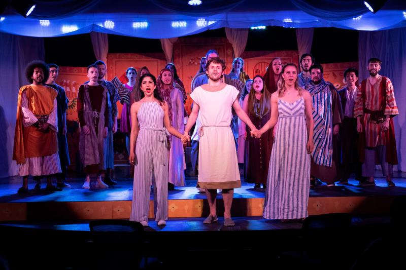 Joseph and the Amazing Technicolor Dreamcoat Dances its Way to The Segal Centre