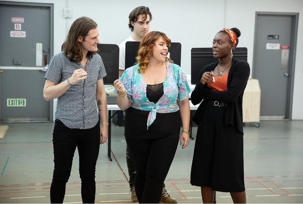Photo Flash: Lonny Price And The Cast of SCOTLAND, PA Prep For Their World Premiere