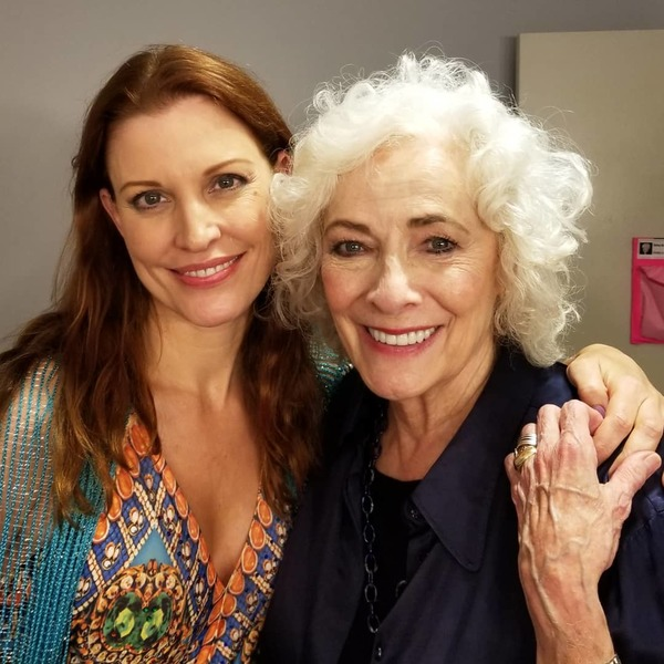 Photo Flash: Rachel York And Carolee Carmello Visit Betty Buckley As She Departs HELLO, DOLLY! On Tour