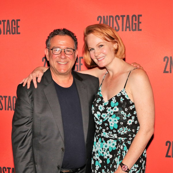 Michael Greif and Kate Baldwin Photo