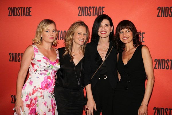 Samantha Mathis, Bess Wohl, Julianna Margulies and Carla Gugino