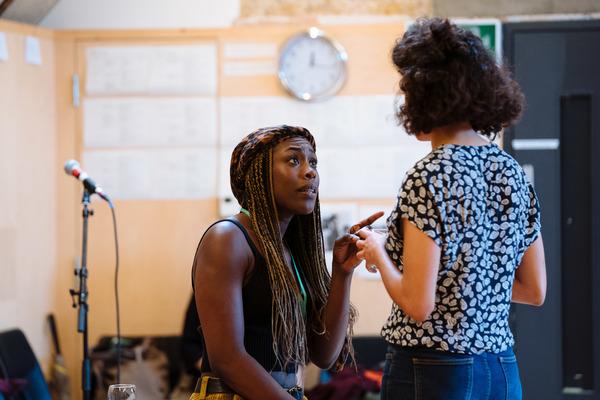 Photo Flash: Inside Rehearsal For CHIAROSCURO at Bush Theatre