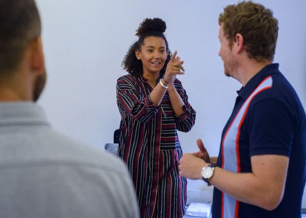 Photo Flash: In Rehearsal with HOW LOVE IS SPELT
