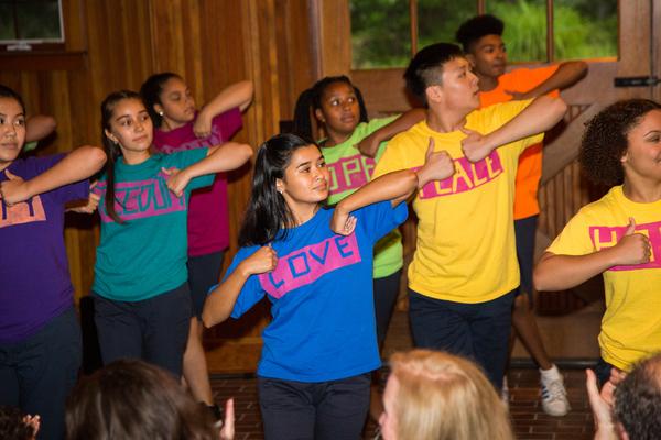 Photo Flash: Jessie Mueller Joins Rosie's Theater Kids at Summer Celebration