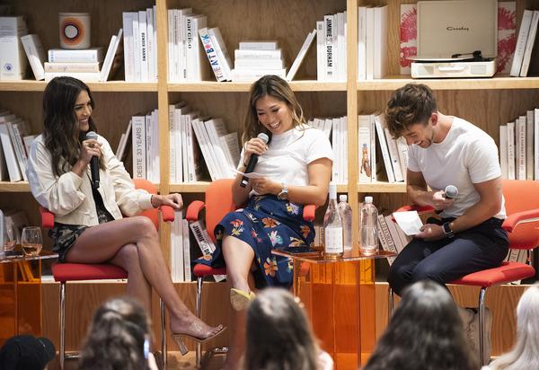 Photo Flash: GLEE Stars Jenna Ushkowitz & Kevin Hale Host Live Podcast Taping For TODAYTIX PRESENTS