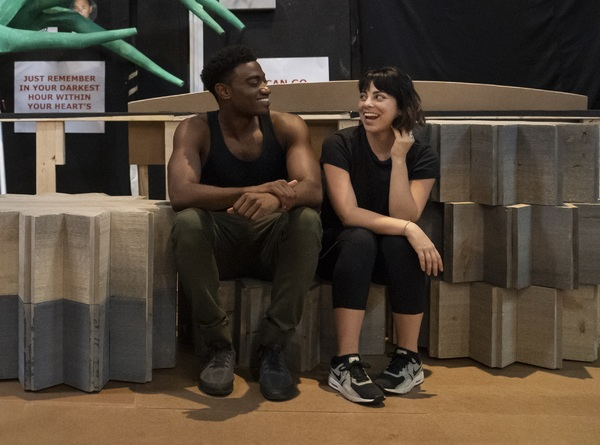 Photo Flash: In Rehearsal with the Company of HERCULES