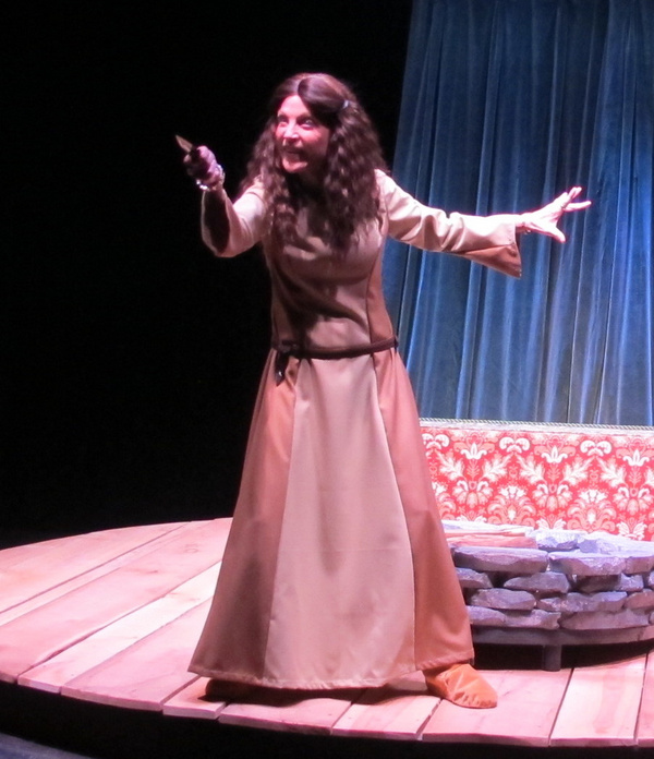 Photo Flash: ...AND EVERY TALE CONDEMNS ME FOR A VILLAIN At Bridge Street Theatre