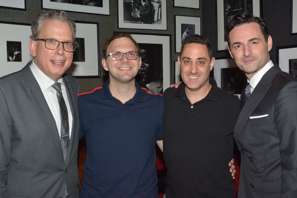 Billy Stritch, Angelo Noto, Adam Rothenberg and Max von Essen Photo