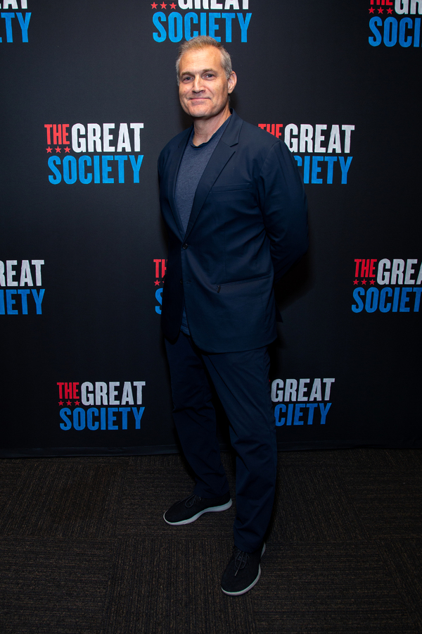 Photo Coverage: Brian Cox, Bryce Pinkham, Mark Kudisch, And The Cast of THE GREAT SOCIETY Meets The Press