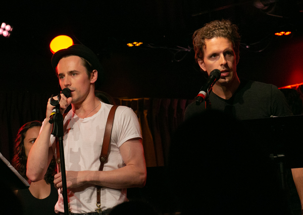 Photo Flash: Reeve Carney, Amy Spanger And More Star In OSWALD In Concert