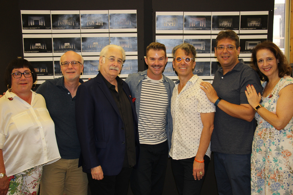 Fern Siegel, Larry Yurman, Richard Winkler, Denis Jones, Marc Acito, David Libby, Tin Photo