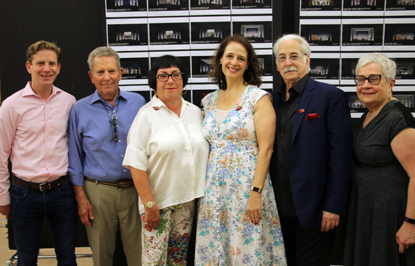 Tommy Hess, Rodger Hess, Fern Siegel, Tina Marie Casamento, Richard Winkler, Nancy Gi Photo