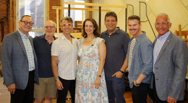 Michael Stotts, Larry Yurman, Mark Acito, Tina Marie Casamento, David Libby, Denis Jo Photo