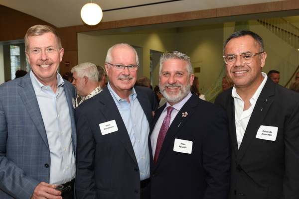 Bill Gilmer with John Blackburn, Alan Spaeth and Eduardo Alvarado
