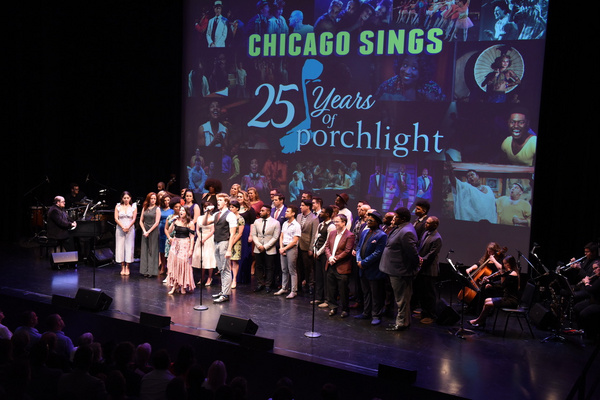 Photo Flash: Porchlight Kicks Off Season With CHICAGO SINGS