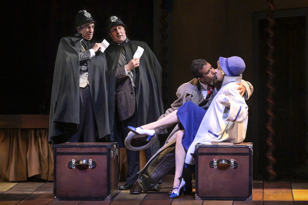 Photo Flash: First Look at TheatreWorks' THE 39 STEPS