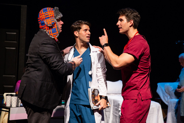 Photo Flash: A First Look At EMERGENCY, A Modern-day Medical Musical At Hudson Guild Theater