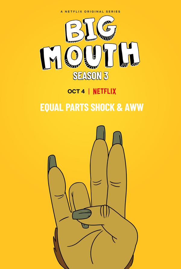 Photo Flash: Netflix Releases BIG MOUTH Season Three Teaser Art, First Look Photos