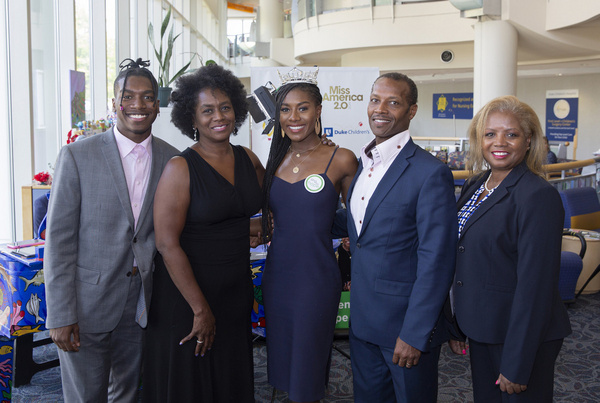 Nia Franklin and family Photo