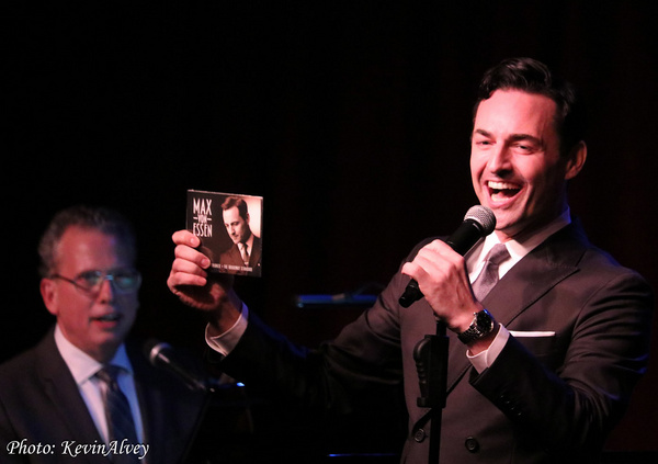 Photo Flash: CAST PARTY And Max Von Essen Celebrate At Birdland