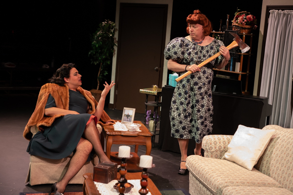 Photo Coverage: First look at Evolution Theatre Company's WHO KILLED JOAN CRAWFORD?