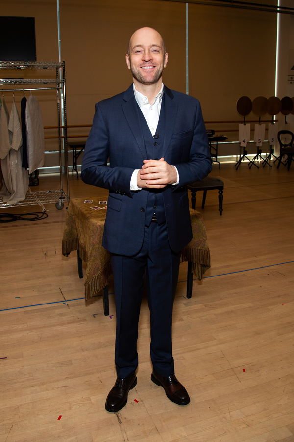 Photo Coverage: Derren Brown Previews Broadway-Bound SECRET!