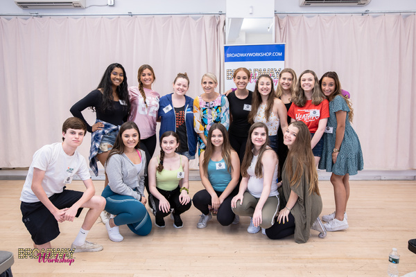 Broadway Stars Connect With Stars of Tomorrow at Broadway Workshop Summer 2019