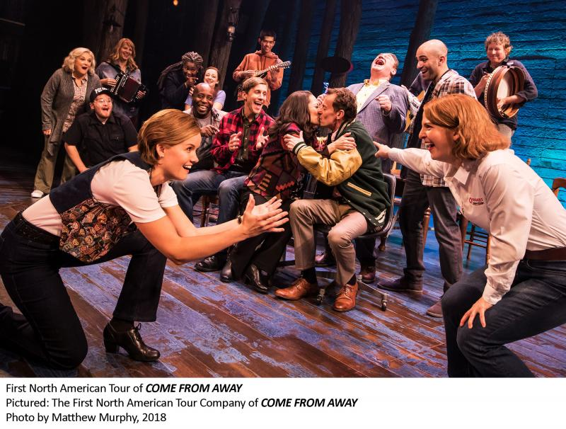 BWW Review: COME FROM AWAY at the National Arts Centre - Southam Hall