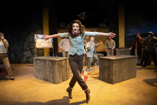 Photo Flash: First Look at INDY JONES at Seattle Public Theater