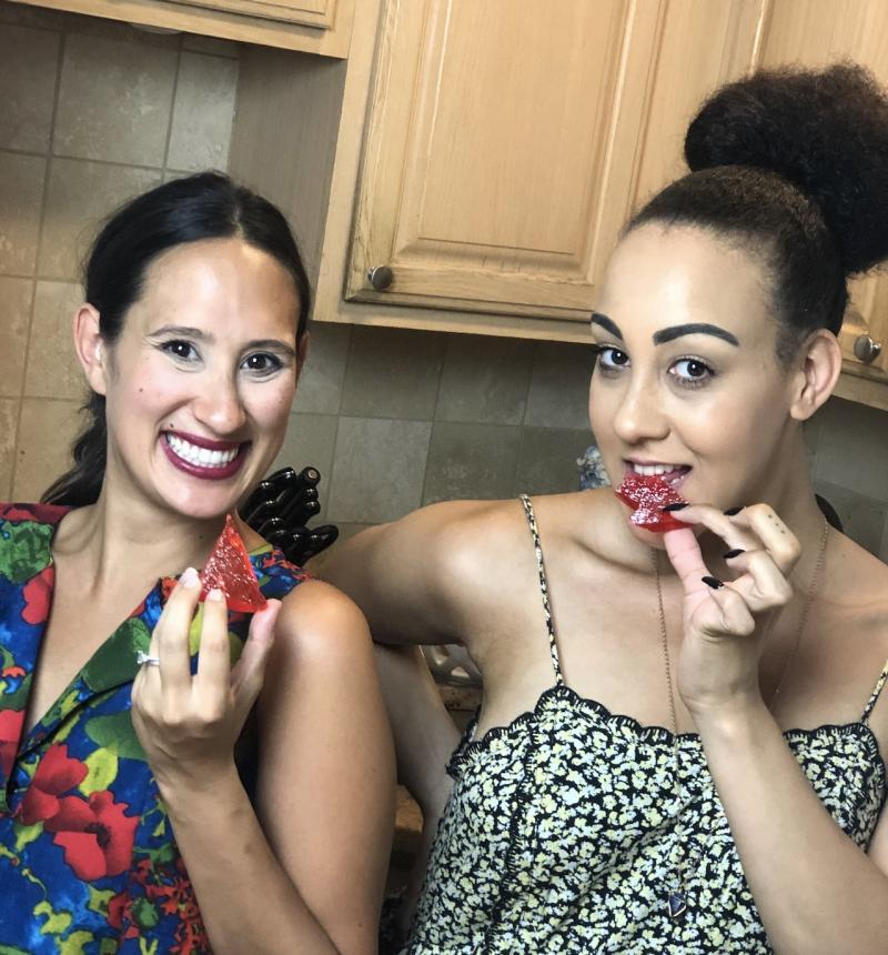 Backstage Bite with Katie Lynch: BAT OUT OF HELL's Danielle Steers Whips Up Some Hard Rock Candy!