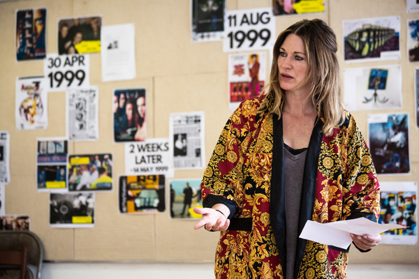 Photo Flash: In Rehearsal with WORLD'S END