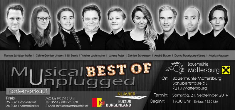 BWW Previews: MUSICAL UNPLUGGED at Bauermühle Mattersburg