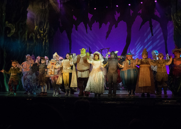 Photo Coverage:  Curtain Call And Meet And Greet Of 3-D Theatricals' SHREK