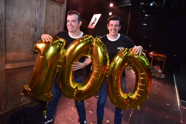 Photo Flash: POTTED POTTER Celebrates 100th Performance at Bally's and Extends!