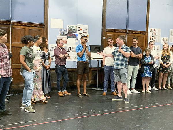 Photo Flash: Meet Billy Porter and the Company of THE PURISTS