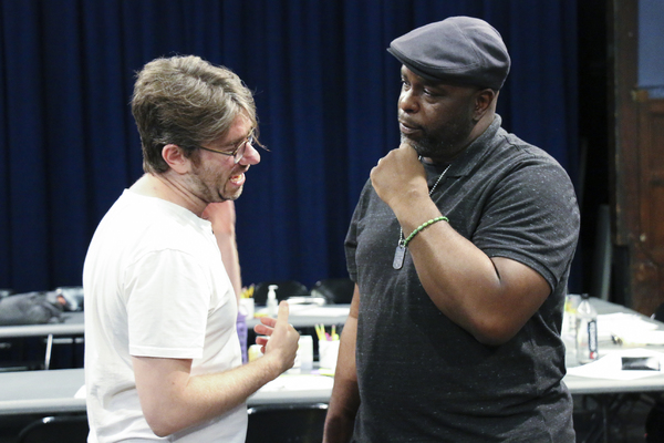 Playwright Dan McCabe and J. Bernard Calloway (Mr. Bugz) discuss the play.