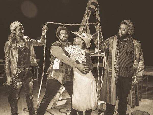 Photo Flash: NTPA Rep Braves the Seas with PETER AND THE STARCATCHER